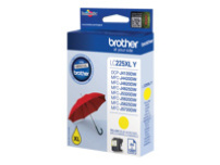 Brother inkjet 225XLY Yellow 1200 sider